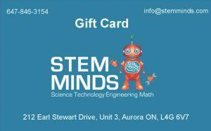 STEM MINDS Gift Card